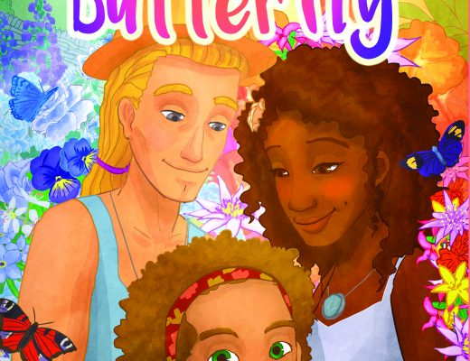 The Biracial Butterfly <br />by Lennox Benson